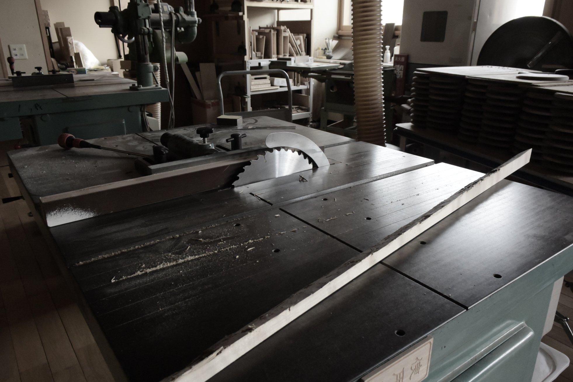 木製品づくりの現場を見てきました