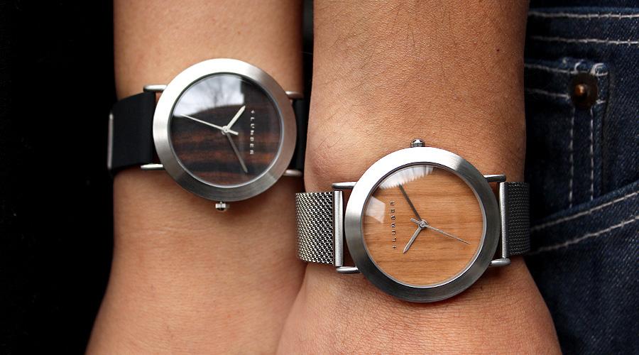 文字盤に本木目を使用したおしゃれな腕時計 WATCH 3300