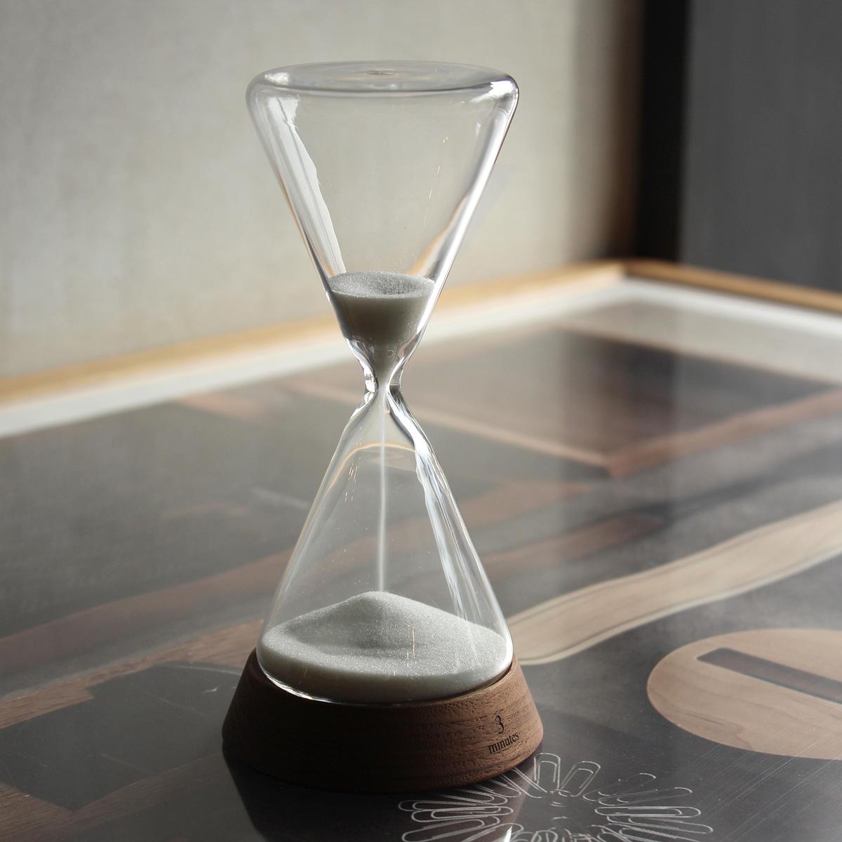 木製砂時計