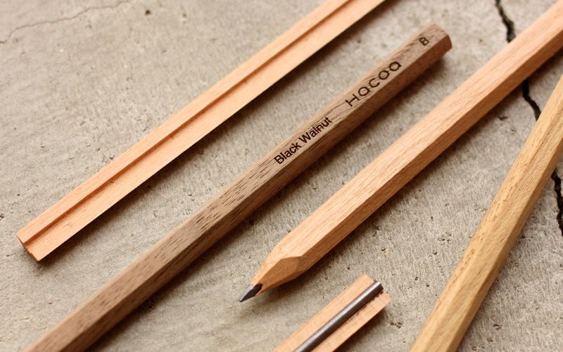 無垢の鉛筆づくりワークショップ