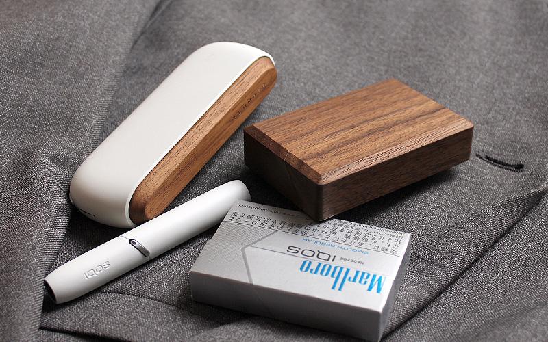 アイコス ヒートスティック専用木製ケース