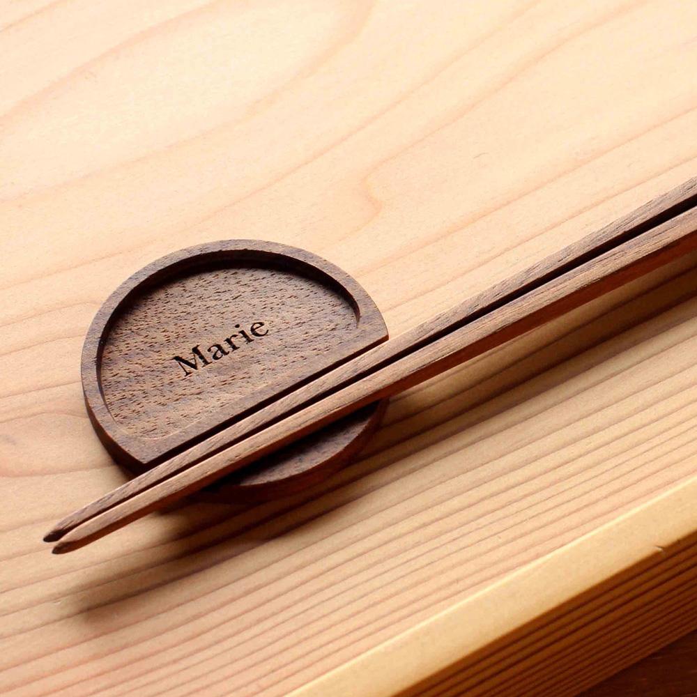 ワークショップ-無垢の箸&箸置き