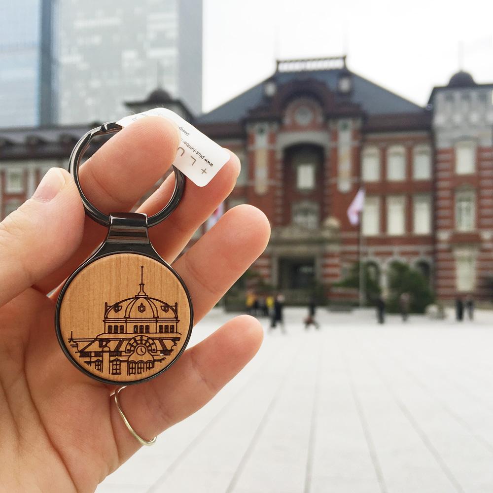 KITTE丸の内店限定の「東京駅丸の内駅舎」のイラスト刻印