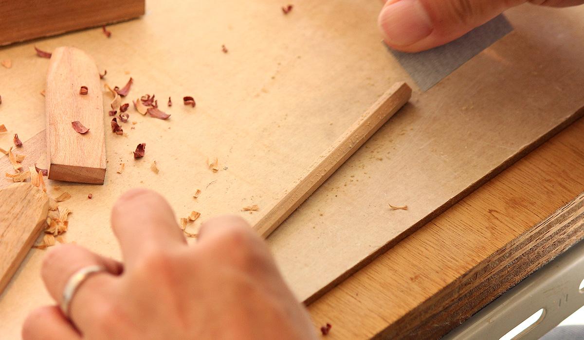 ワークショップ-手作り鉛筆キット