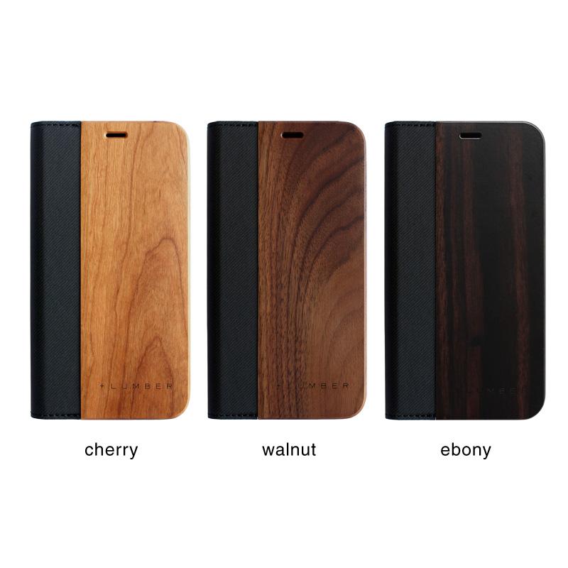 手帳型の木製アイフォンケース、iPhone 12用木製ケース
