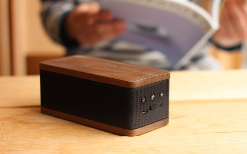木製Bluetoothスピーカー