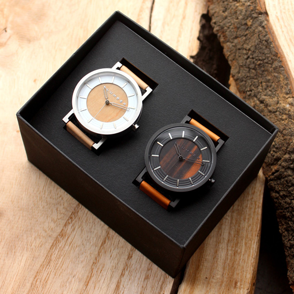 木製ペアウォッチ「WATCH 2200」ギフトセット