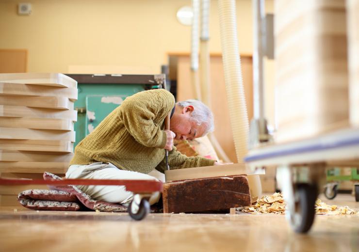 伝統工芸士、木地職人・木工職人