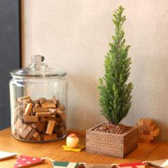 ワークショップ-枡でつくるクリスマスツリー